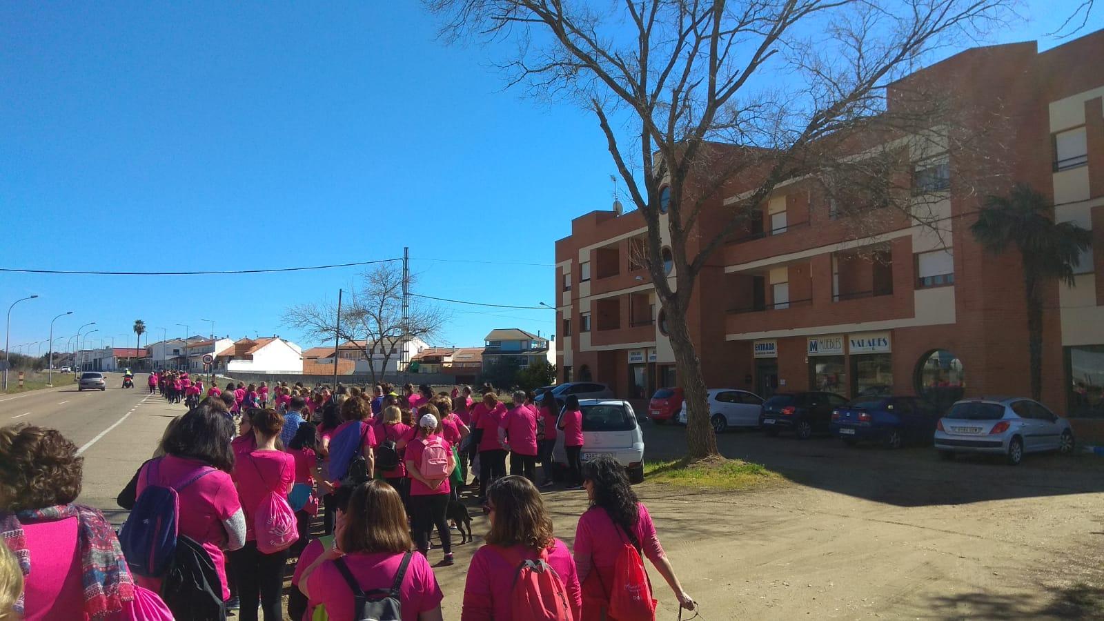 Actividades 8m - Miajadas Marcha Popular de la Mujer5