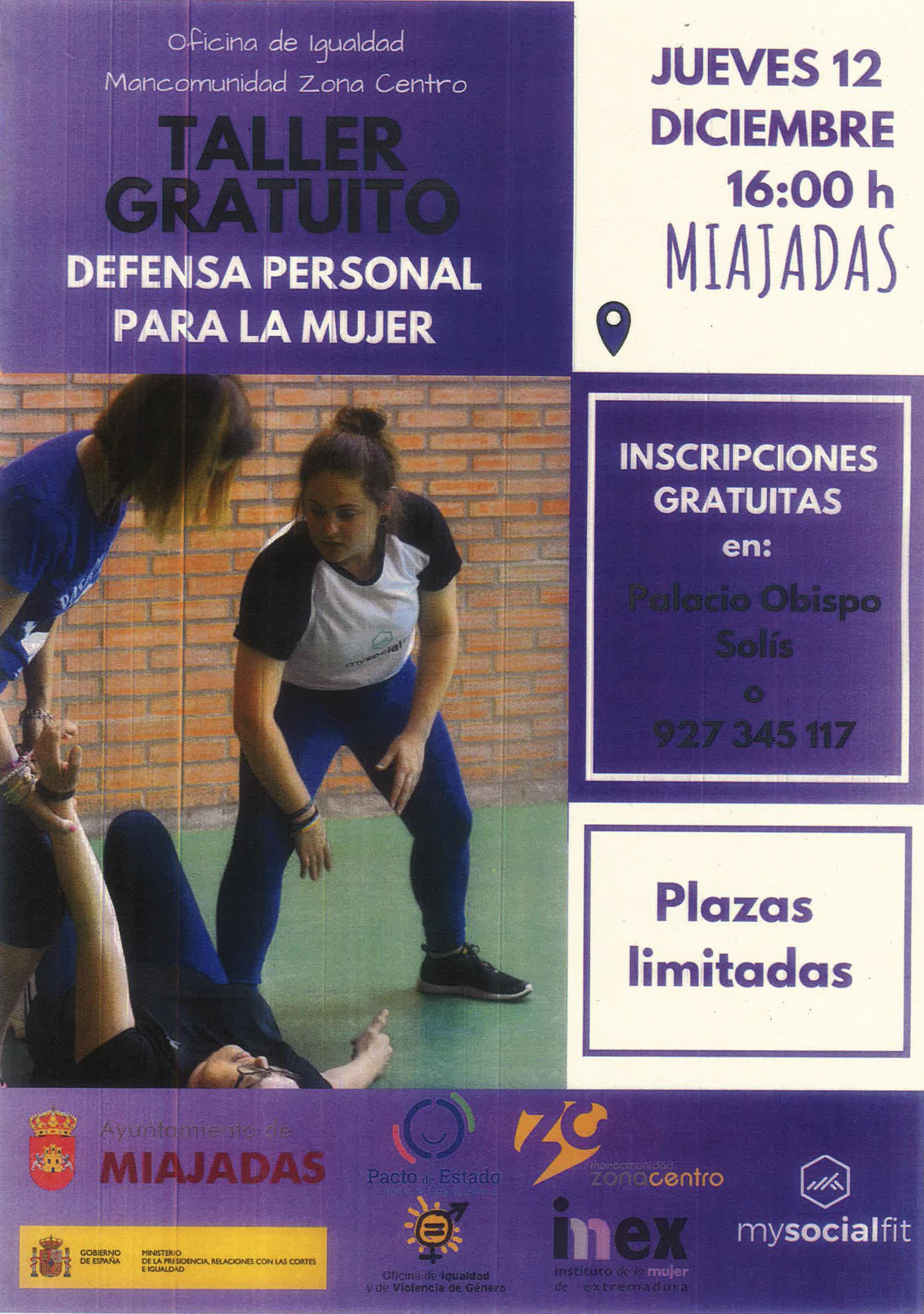 25n19 defensa personal Miajadas