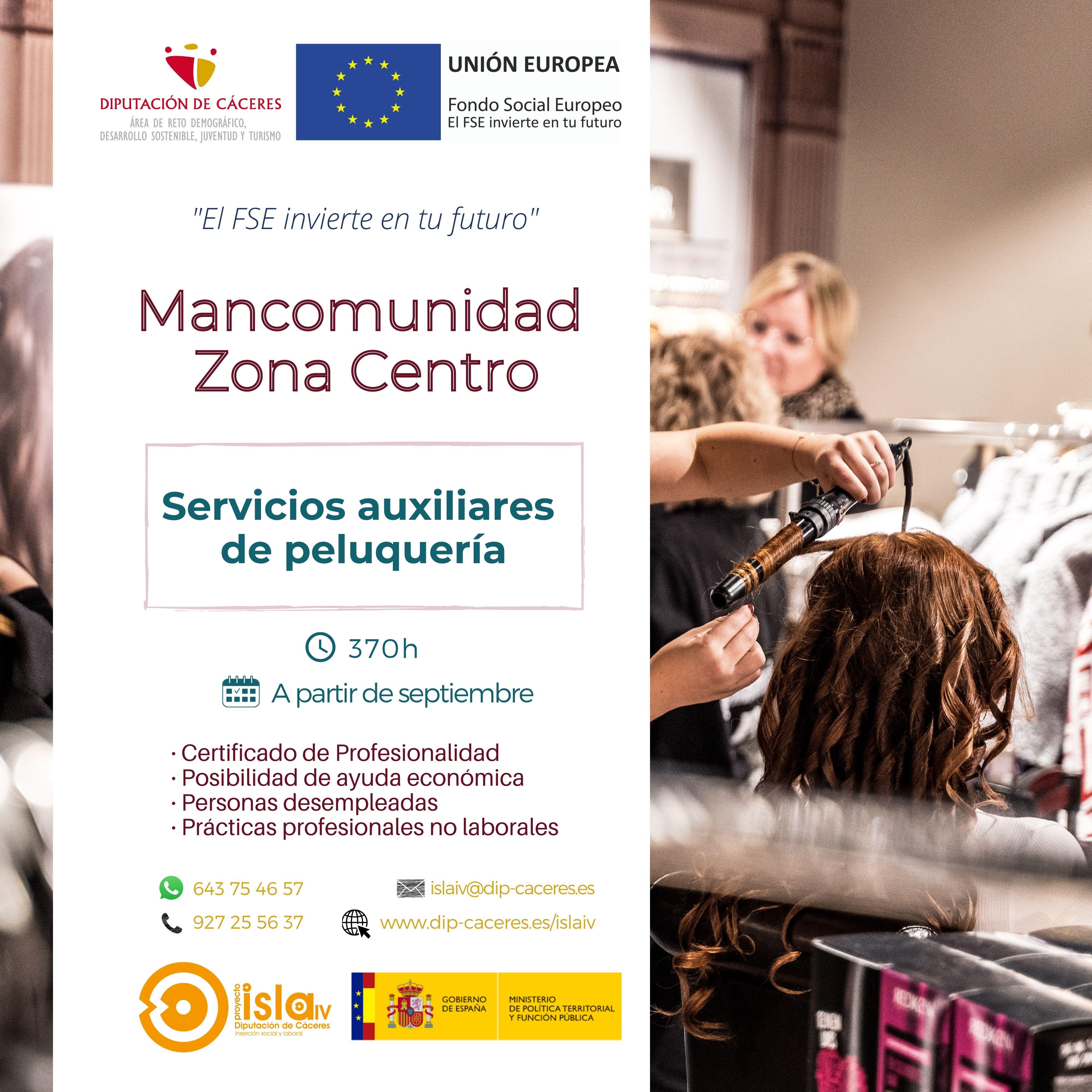 Cartel RRSS Peluquería - ZonaCentro