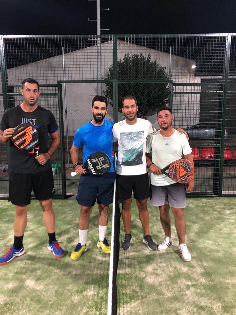 Torneo Padel Campo Lugar 1